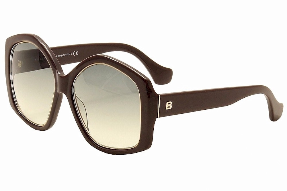 Image of Balenciaga Women's BA49 BA/49 Fashion Sunglasses - Purple - Lens 55 Bridge 17 Temple 140mm
