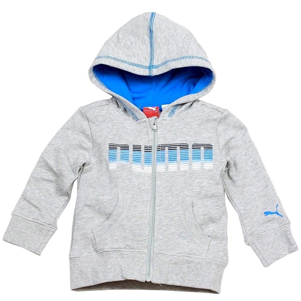 6908c41c340e Puma Infant Toddler Boy s Slub Zip Hoodie Long Sleeve Sport Sweatshirt