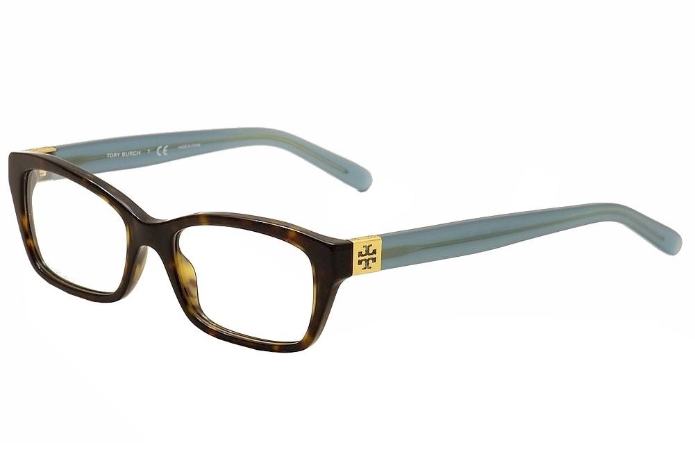 Image of Tory Burch Women's Eyeglasses TY2049 TY/2049 Full Rim Optical Frame - Brown - Lens 51 Bridge 17 Temple 135mm