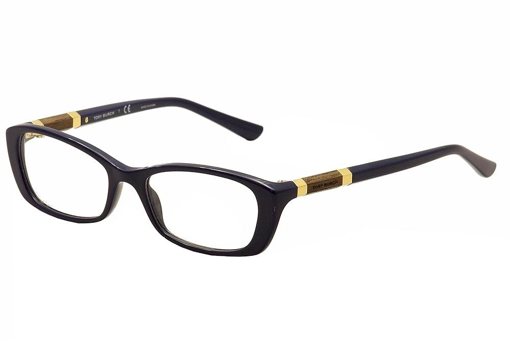 Image of Tory Burch Women's Eyeglasses TY2054 TY/2054 Full Rim Optical Frame - Blue - Lens 50 Bridge 17 Temple 135mm