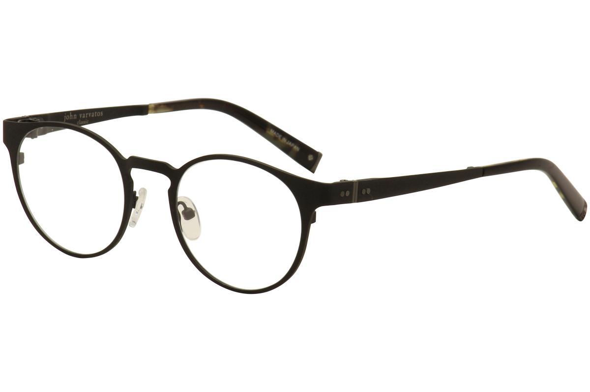 John Varvatos Men\'s Eyeglasses V155 V/155 Full Rim Optical Frames