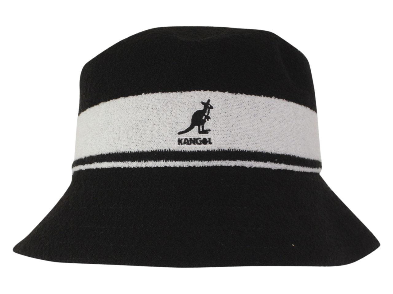 54610807d Kangol Men's Bermuda Stripe Bucket Hat
