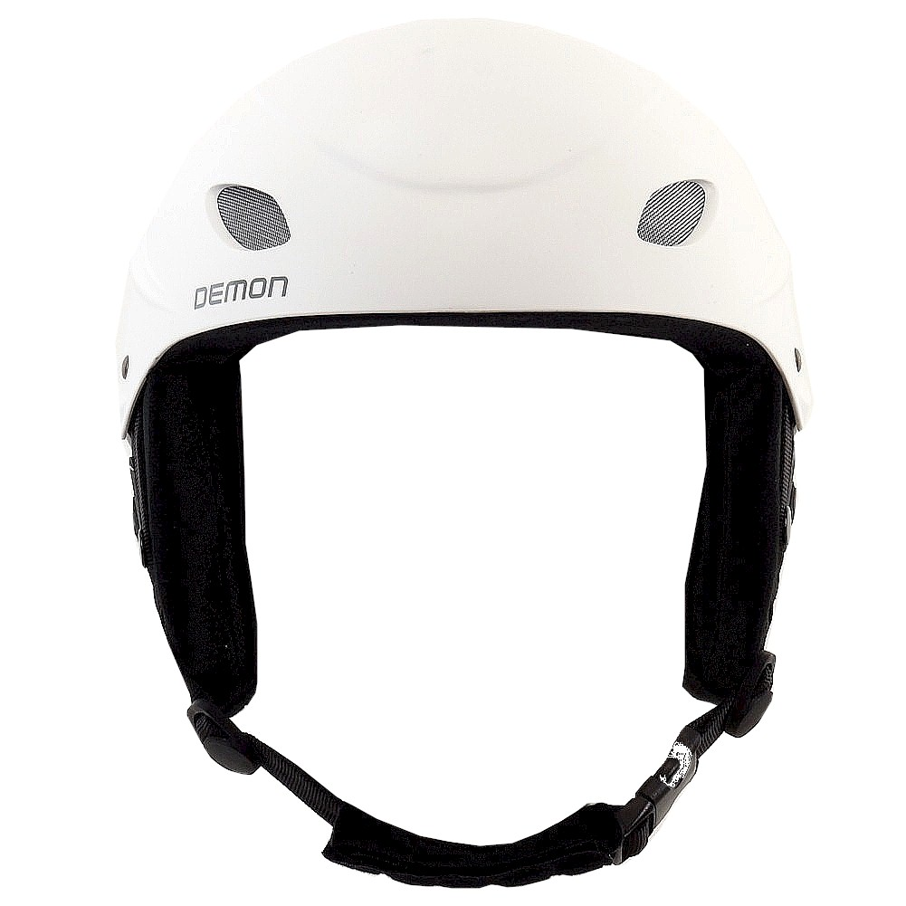 Image of Demon Multi Sport Protection Phantom Audio Helmet - White - Large; 22.8 24 In