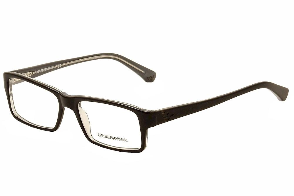 Emporio Armani Men\'s Eyeglasses EA3003 EA/3003 Full Rim Optical Frame