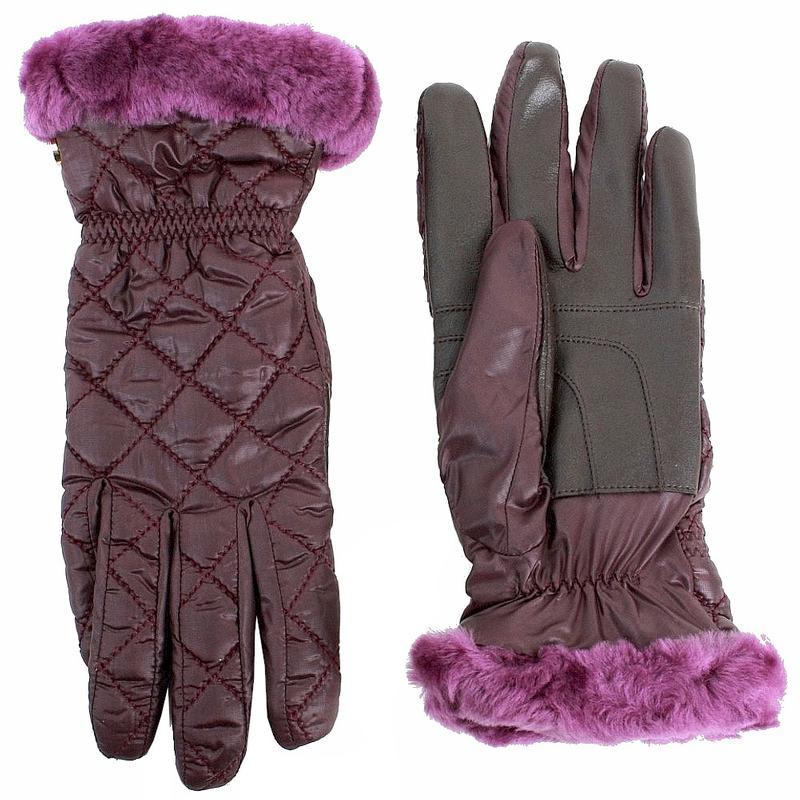 Ugg Australia Women s Slim Fit Quilted Smart Winter Gloves