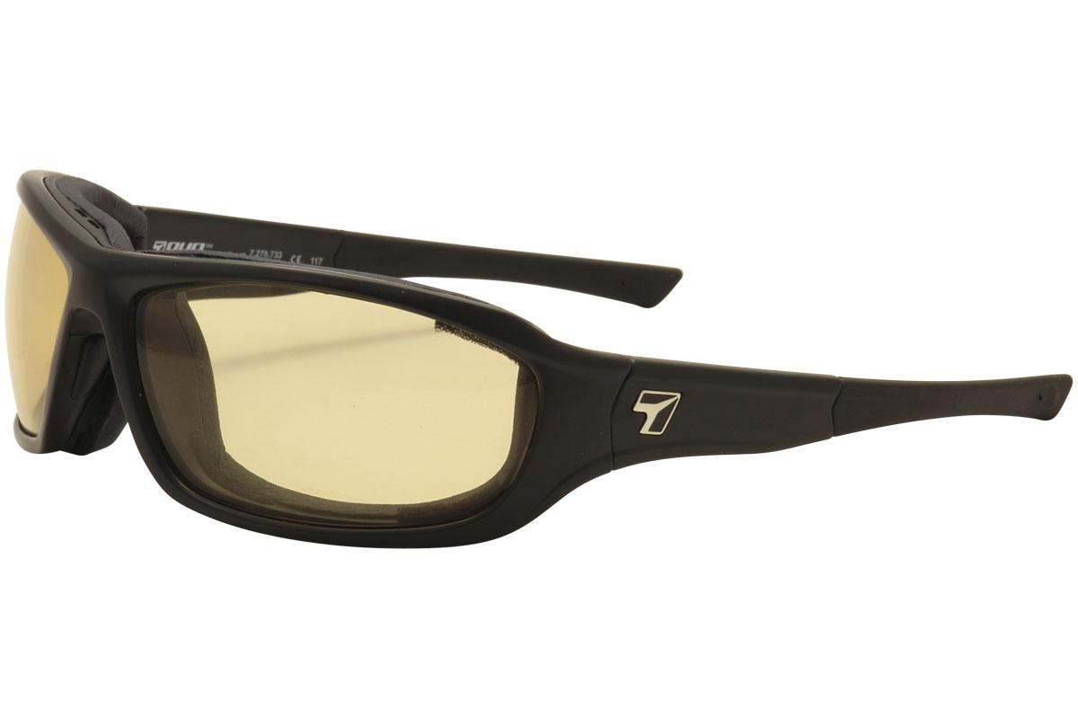 Image of 7Eye AirShield Derby Wrap Sunglasses - Black/Photochromic Day/Night Contrast F 2401 - Medium Large