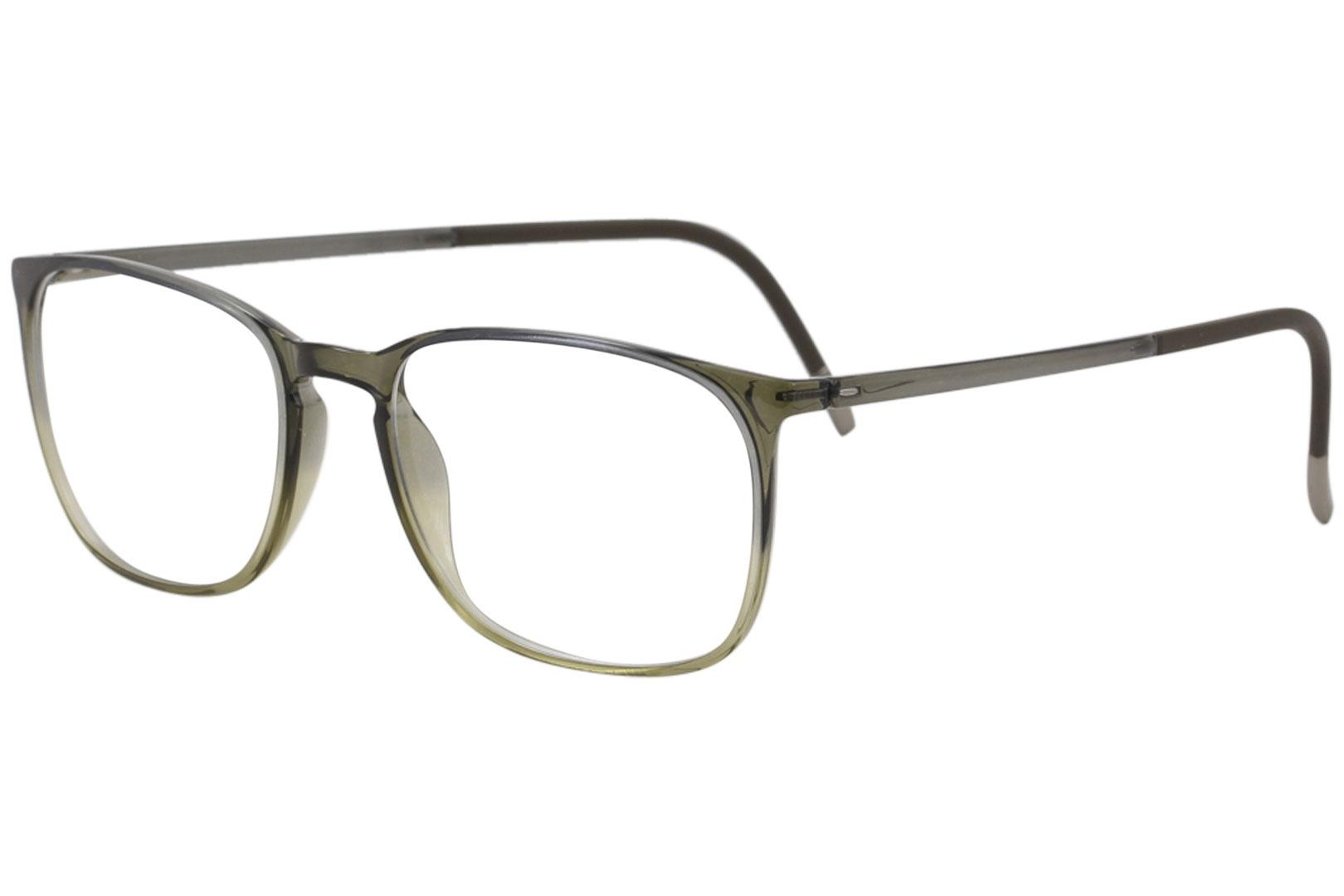 bd5597a3b5fa Silhouette Men's Eyeglasses SPX Illusion 2911 Full Rim Optical Frame by  Silhouette. Touch to zoom