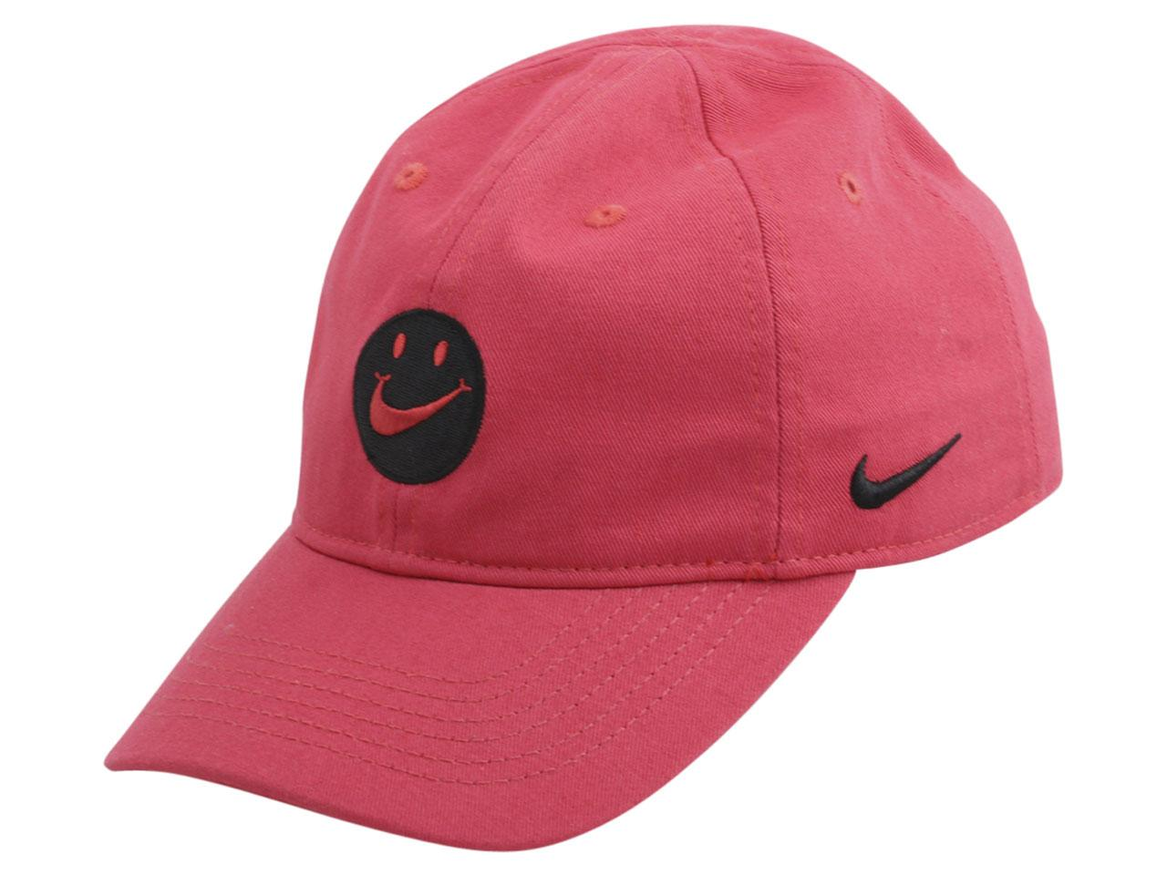 Nike Little Kid's Swoosh Patch Strapback Cotton Baseball Cap Hat