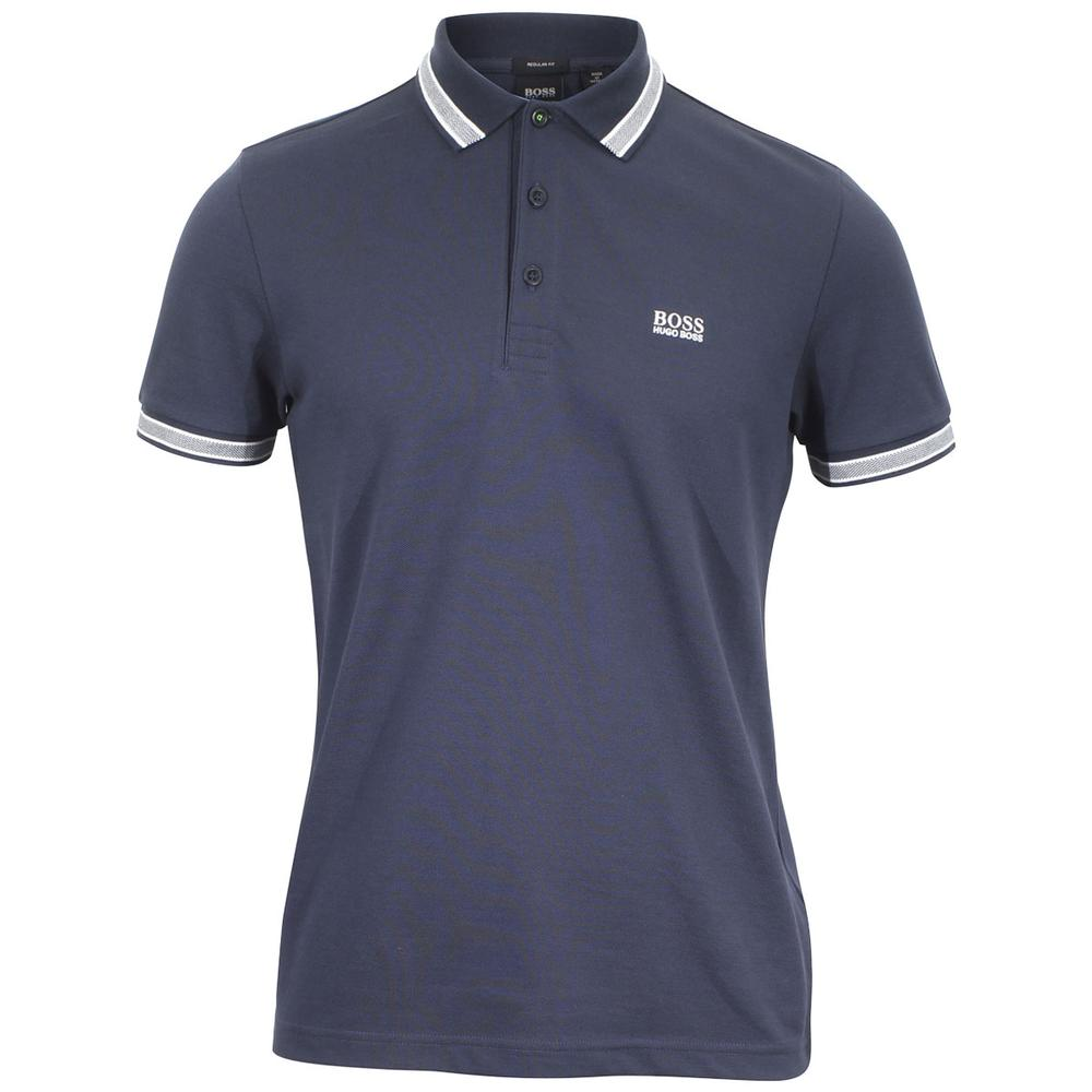 01cc9c314 Hugo Boss Men's Paddy Short Sleeve Cotton Polo Shirt by Hugo Boss