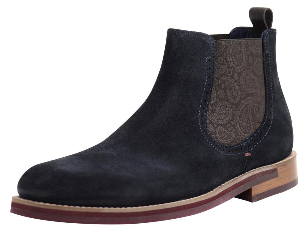 Secaint Dark Blue Chelsea Boots Shoes