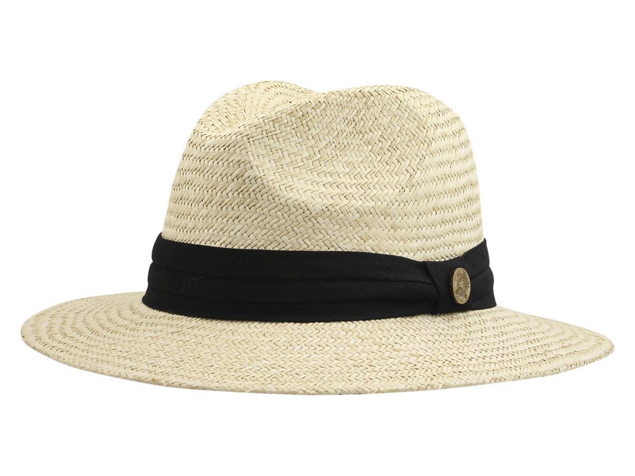 66bc0195c6d Tommy Bahama Men s 3-Pleat Trim Panama Hat