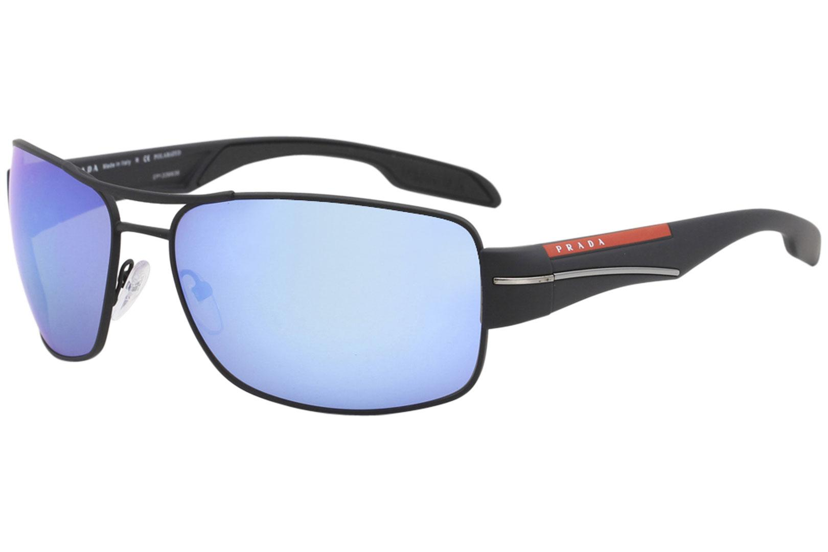 Prada Linea Rossa SPS53N SPS/53N Pilot Sunglasses