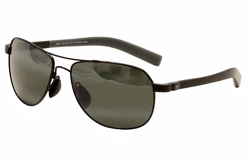 outlet online exquisite design most popular Maui Jim Men's Guardrails MJ/327 MJ327 Polarized Pilot Sunglasses
