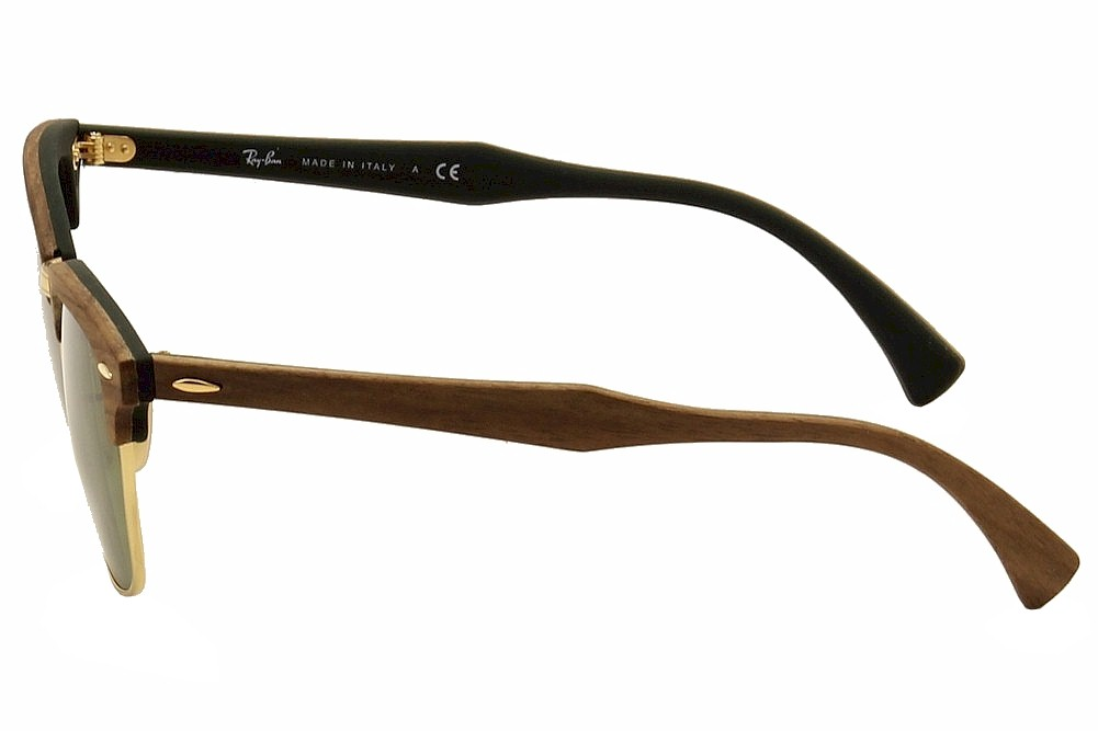 dffa7267a7 Ray Ban Men s Clubmaster Wood 3016M 3016 M RayBan Wayfarer Sunglasses by Ray  Ban. 1234567