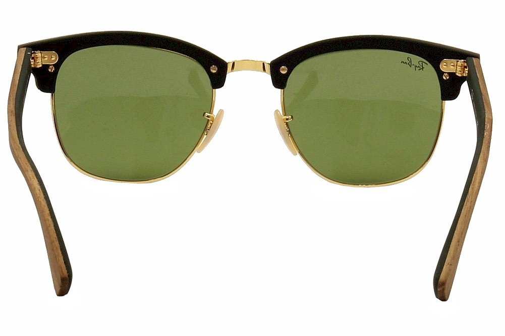 15af842d523 Ray Ban Men s Clubmaster Wood 3016M 3016 M RayBan Wayfarer Sunglasses by Ray  Ban. 1234567
