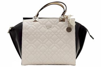 Guess Women's Ines Chic Quilted Satchel Handbag  UPC: