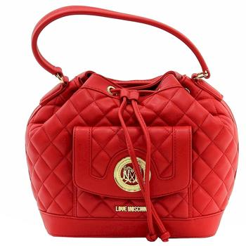 Love Moschino Women's Quilted Medium Leather Satchel Handbag  UPC: