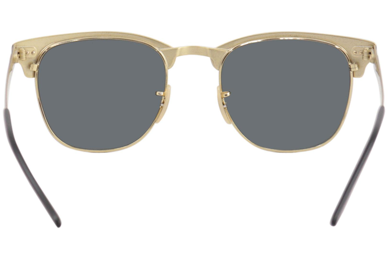 ed02d14cd3 Ray Ban Clubmaster Metal RB3716 RB 3716 Square RayBan Polarized Sunglasses  by Ray Ban