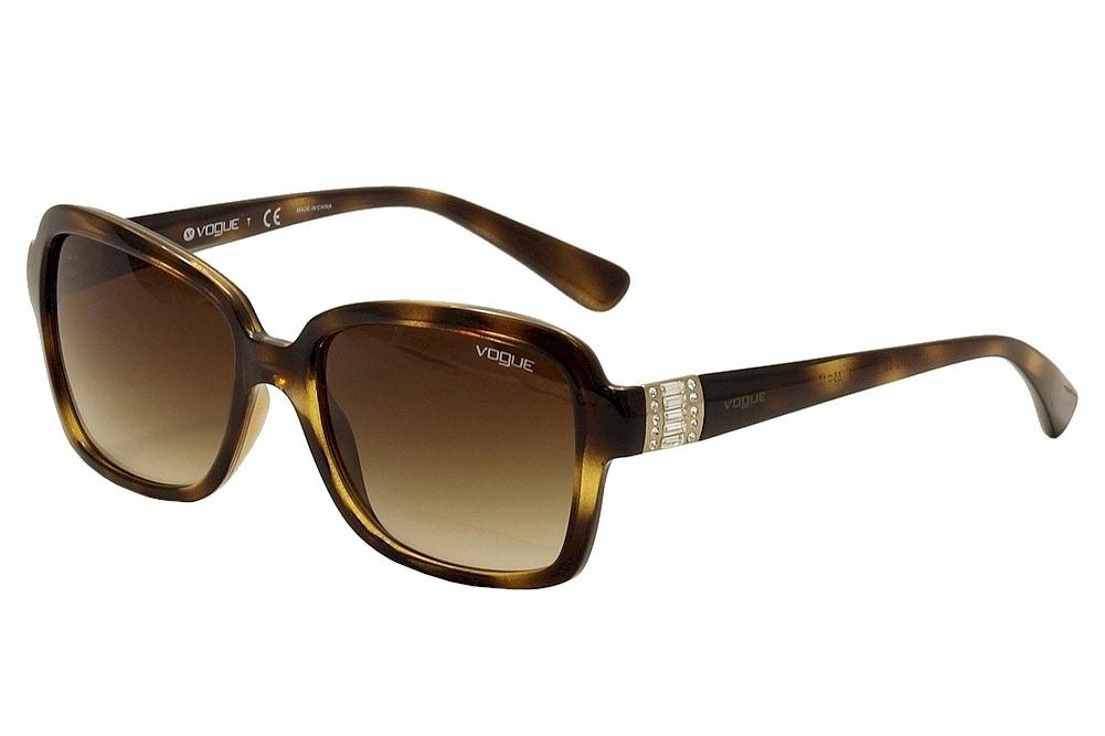Image of Vogue Women's 2942SB 2942S/B Fashion Sunglasses - Brown - Lens 55 Bridge 17 Temple 135mm