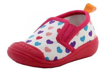 Skidders Infant Toddler Girl's Canvas Comfort Slip On Shoes UPC: