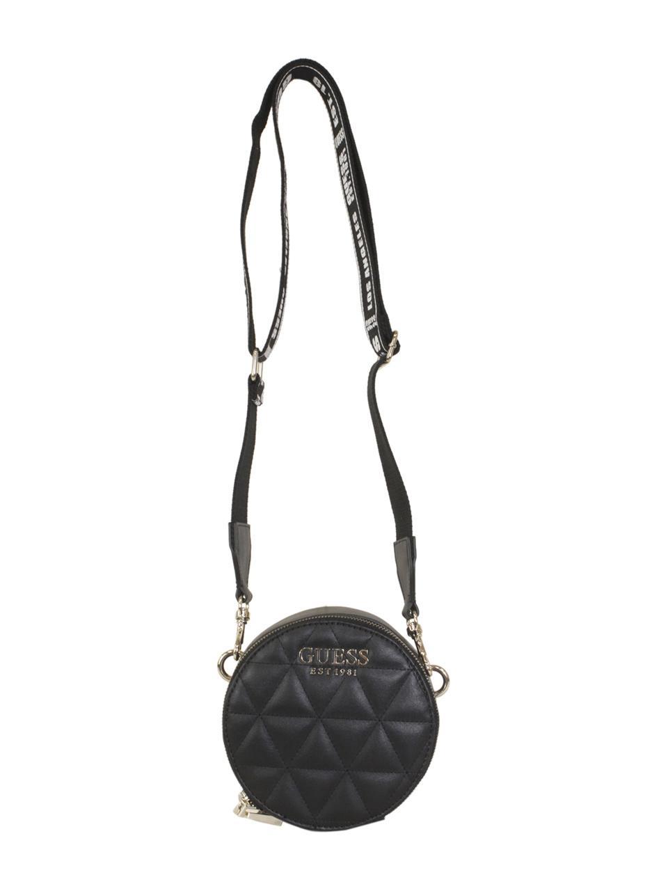 Details about Guess Women's Laiken Mini Round Crossbody Handbag