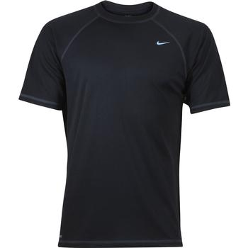 Nike Men's Hydroguard Short Sleeve Dri-Fit Swoosh Rash Guard Shirt