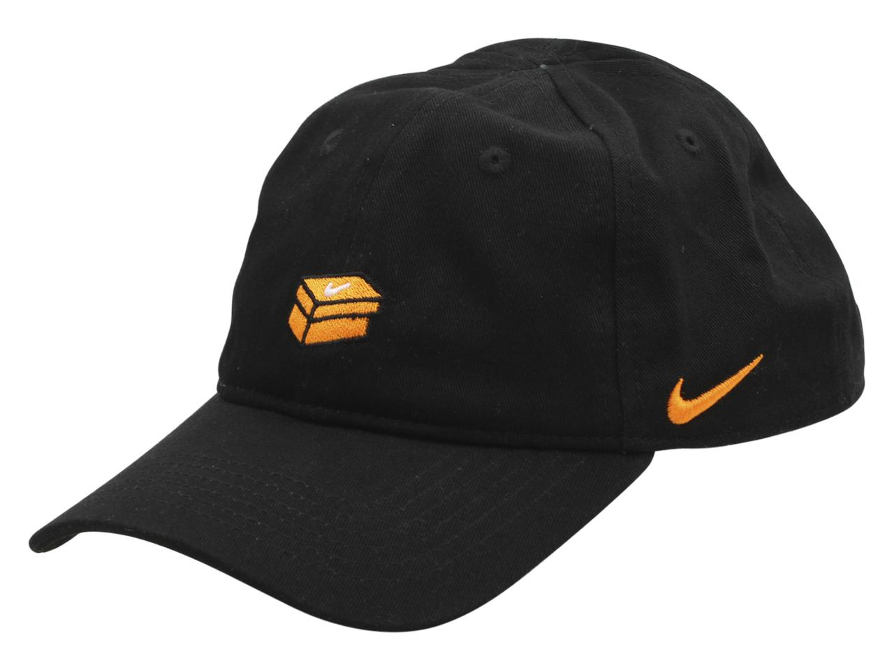 Nike Toddler/Little Kid's Swoosh Patch Strapback Cotton Baseball Cap Hat