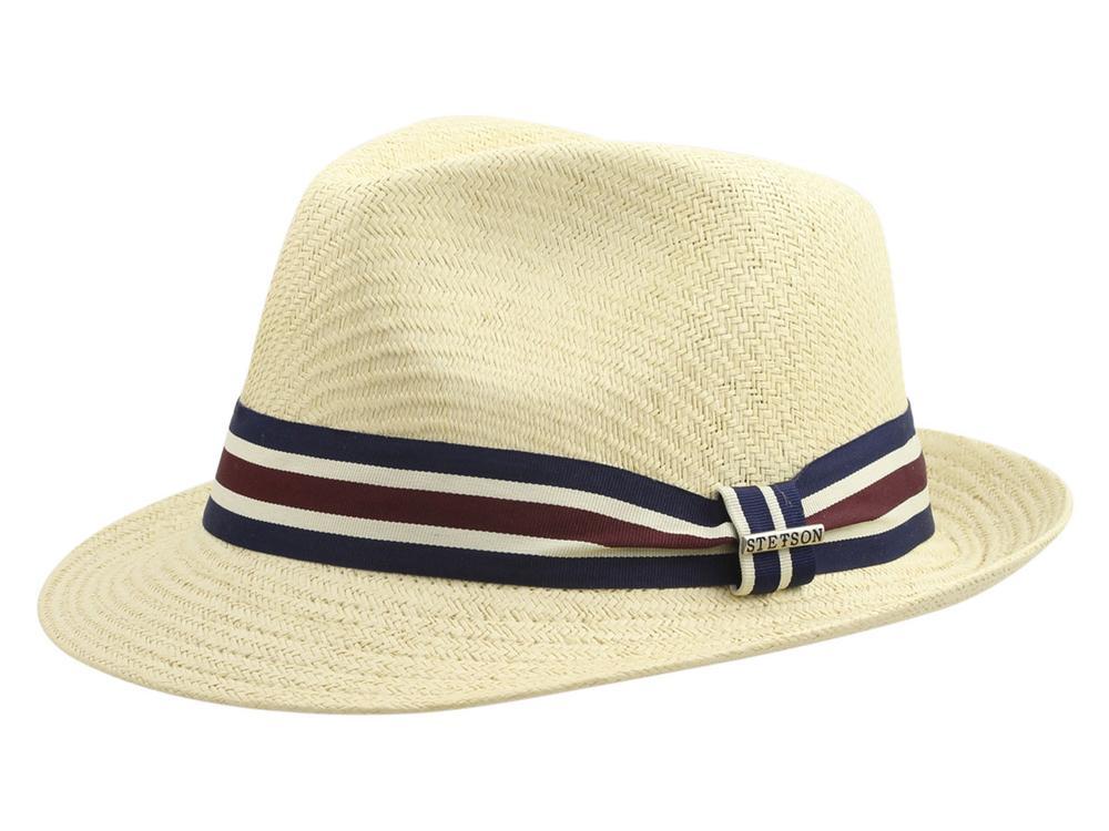 Image of Stetson Men's Matte Toyo Fedora Hat - Beige - Large