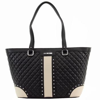 Love Moschino Women's Quilted & Studded Tote Handbag UPC: