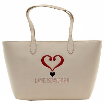 Love Moschino Women's Applied Logo Tote Carry-All Handbag UPC: