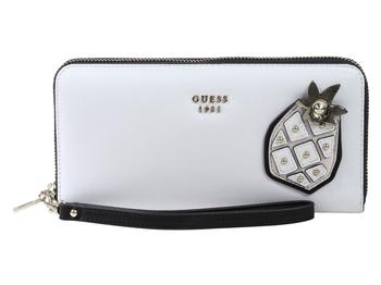 fd3e235eac2 Guess Women s Fruit Punch Large Zip-Around Clutch Wallet by Guess