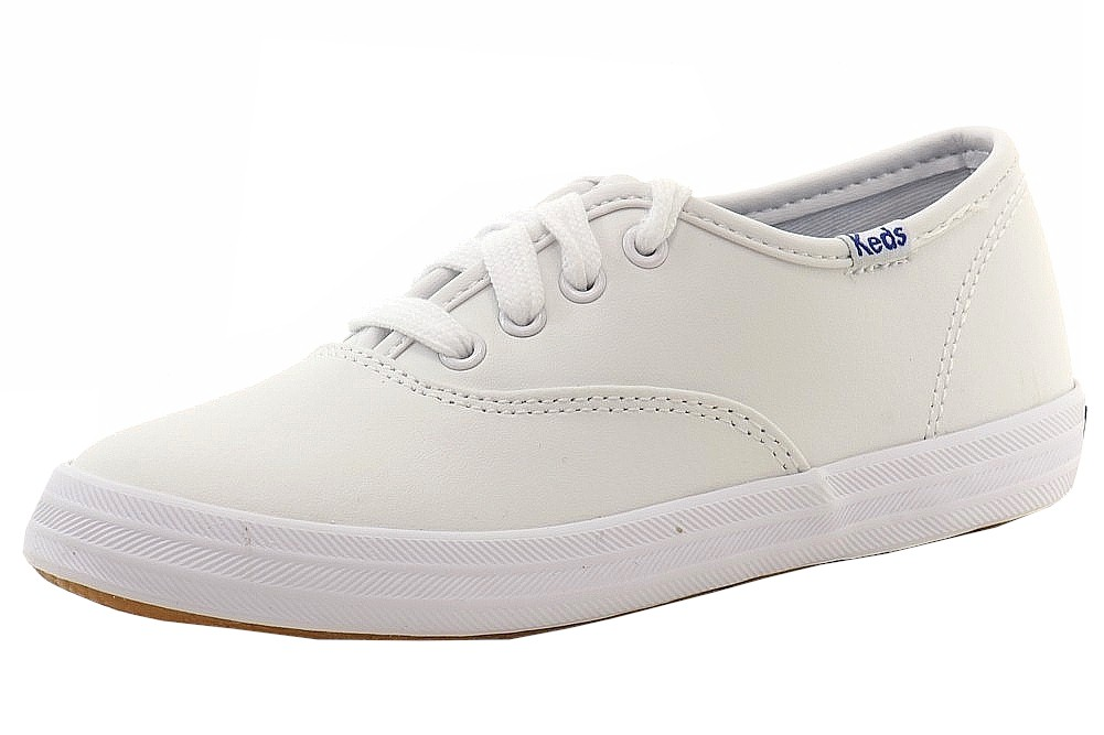 Image of Keds Girl's Champion Fashion Sneakers Shoes - White - 1.5 M US Little Kid