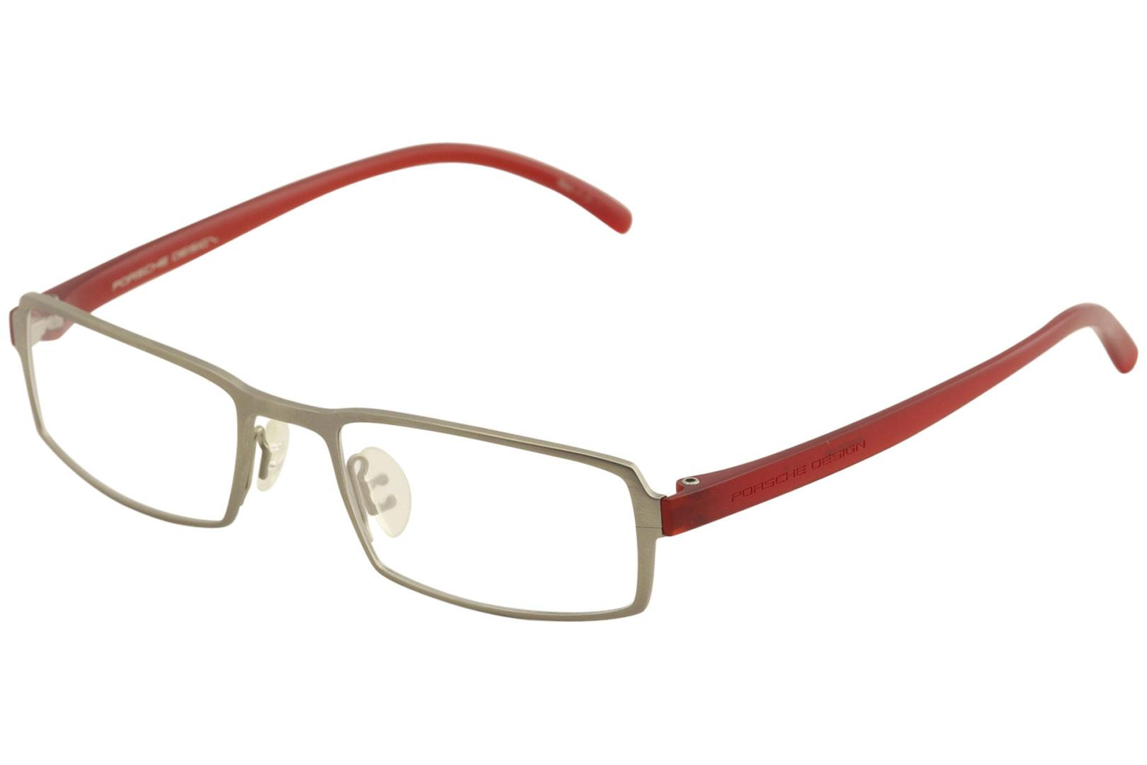 5b930587bf Porsche Design Men s Eyeglasses P8146 P 8146 Full Rim Titanium Optical Frame