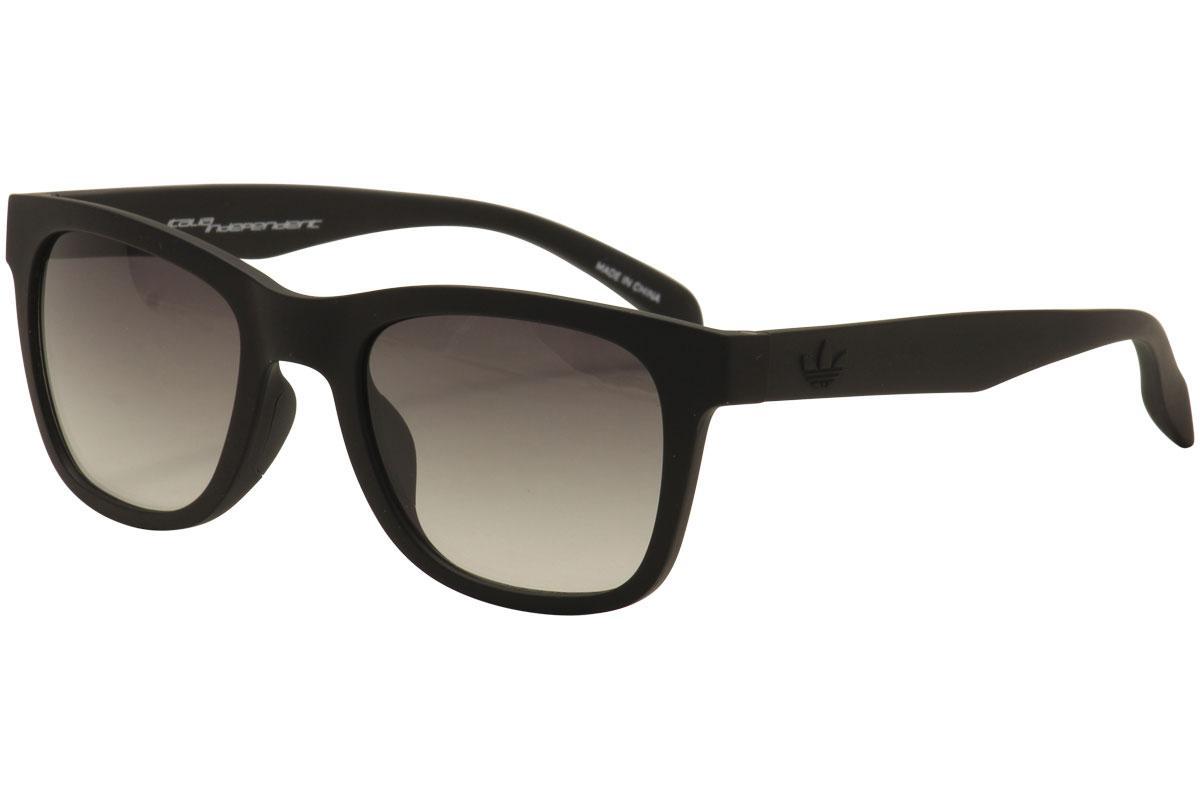 Image of Adidas AOR004 AOR/004 Sport Sunglasses - Matte Black/Grey Gradient   009.009 - Lens 50 Bridge 22 Temple 140mm