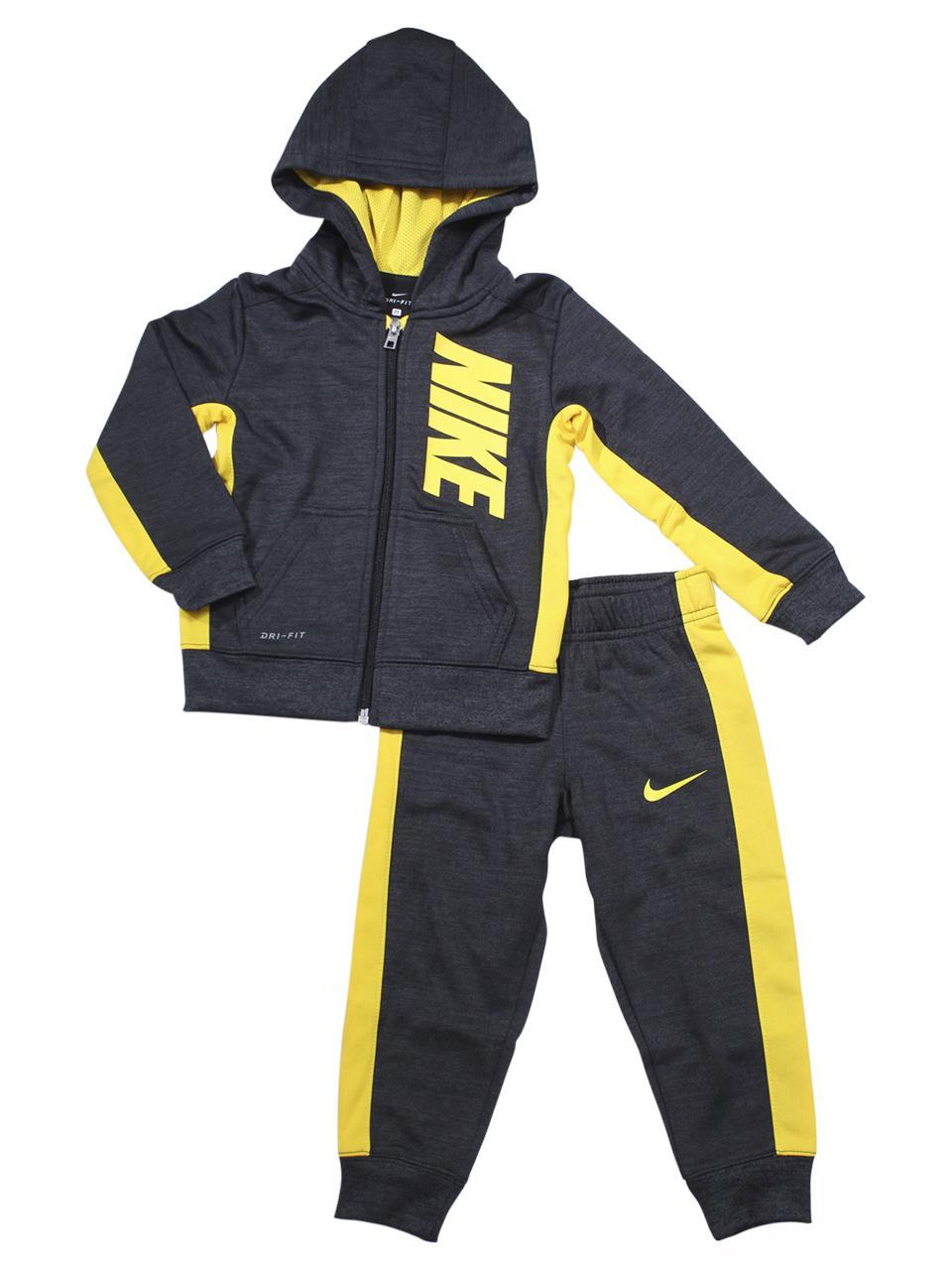 Nike Little Boy's 2-Piece Therma Hoodie & Pants Set