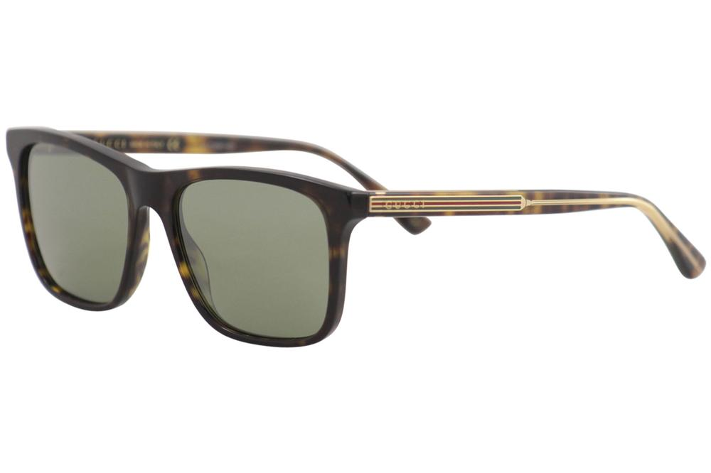 Gucci Men's GG0381S GG/0381/S Fashion Square Sunglasses