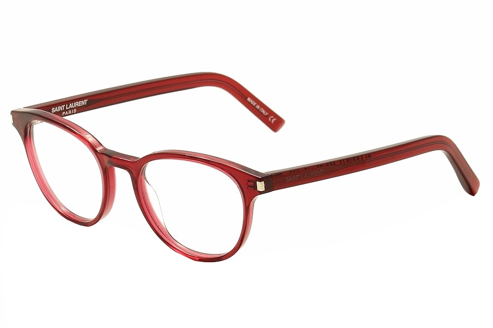 Image of Saint Laurent Eyeglasses Classic 10 Full Rim Optical Frame - Red - Lens 50 Bridge 19 Temple 140mm