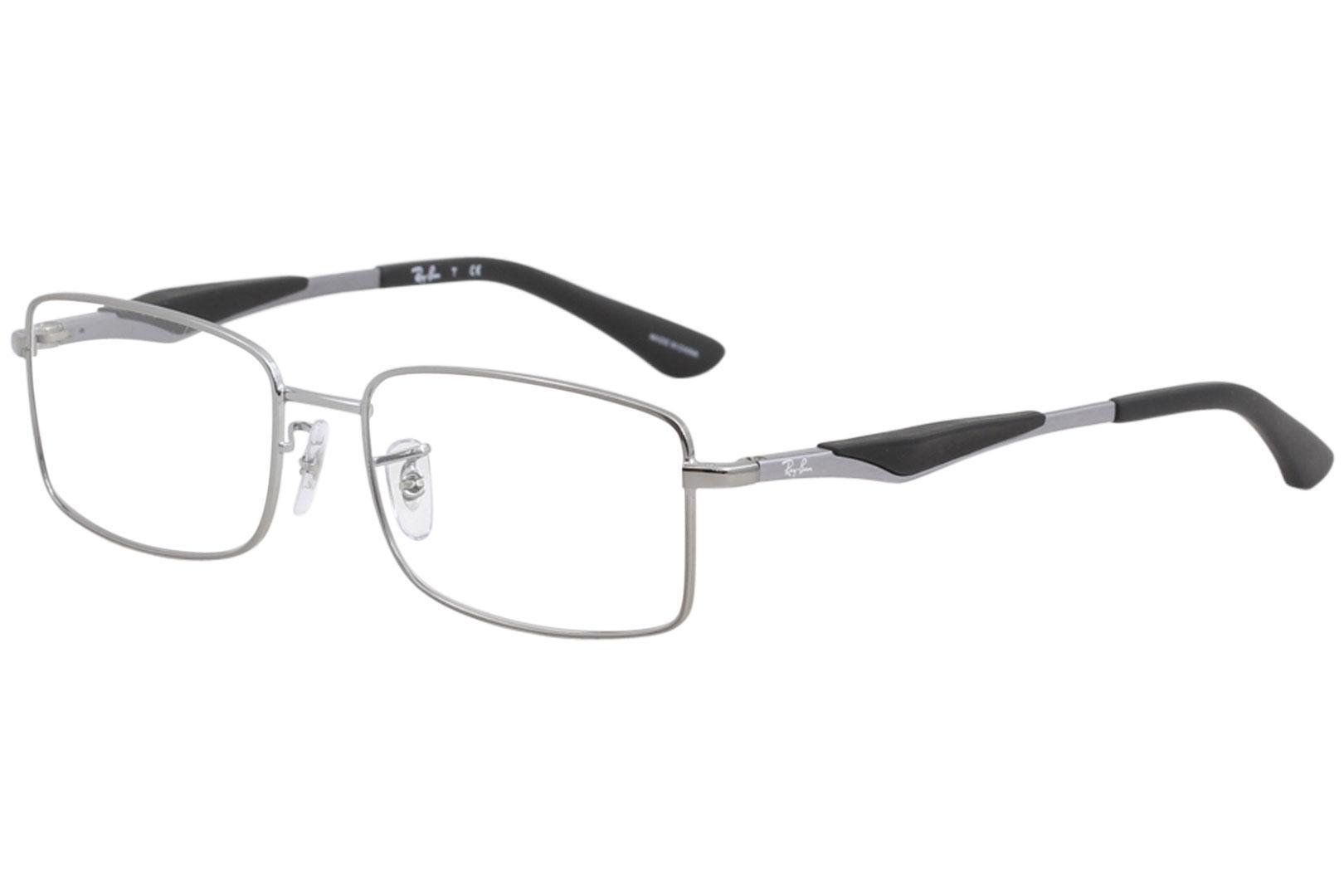 8eb21e5103 Ray Ban Men s Eyeglasses RX6284 RX 6284 2502 Gunmetal RayBan Optical ...
