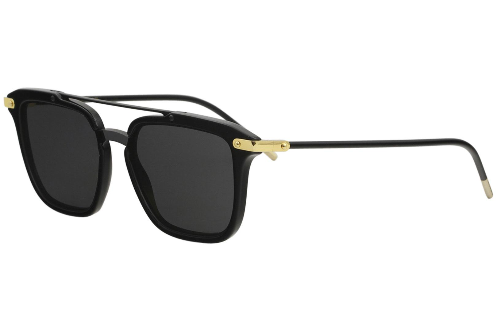 2dbaed42d994 Dolce   Gabbana Men s D G DG4327 DG 4327 Fashion Square Sunglasses by Dolce    Gabbana