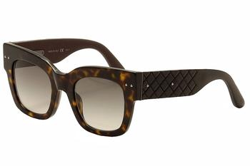 Bottega Veneta Women's BV0007S BV/0007S Fashion Sunglasses  UPC: