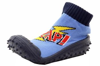 Skidders Infant Toddler Boy's Zap! Skidproof Slip On Shoes UPC: