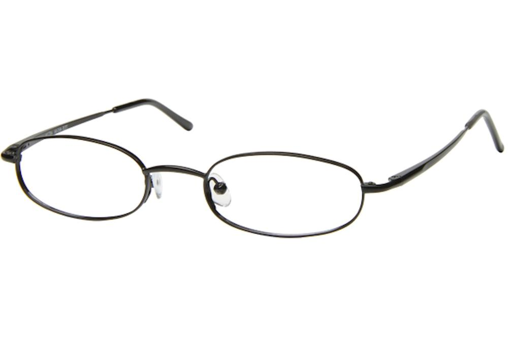 Image of Tuscany Men's Eyeglasses 465 Full Rim Optical Frame - Black   04 - Lens 45 Bridge 20 Temple 145mm