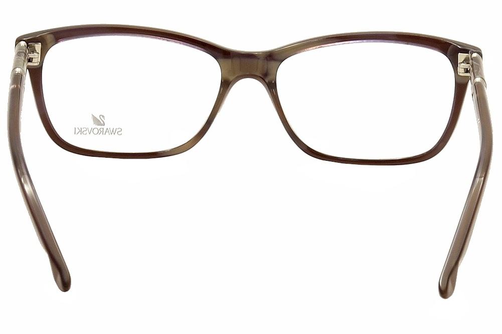 32ff2284c58 Daniel Swarovski Women s Eyeglasses Flame SK5158 SK 5158 Full Rim Optical  Frame by Swarovski. 1234567