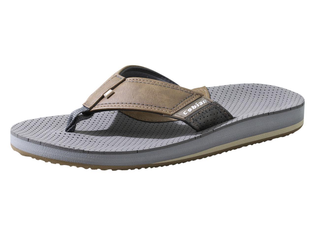 Image of Cobian Men's A.R.V. II Flip Flops Sandals Shoes - Chocolate - 8 D(M) US