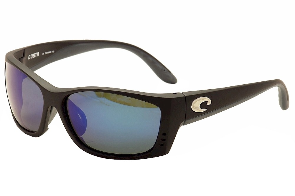 b46a63f0b7 Costa Del Mar Men s Fisch Global Fit Polarized Wrap Sunglasses