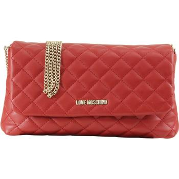 Love Moschino Women's Quilted Fold-Over Crossbody Handbag