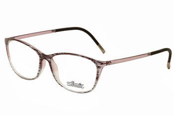 d2a02b65b3e Silhouette Women s Eyeglasses SPX Illusion Shape 1563 Full Rim ...