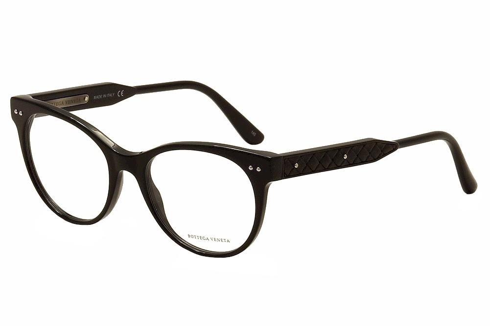 af64080855b Bottega Veneta Women s Eyeglasses BV0017O 0017 O Full Rim Cat Eye Optical  Frame
