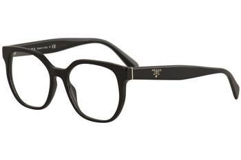 0ba97ba72e Prada Women s Eyeglasses VPR02U VPR 02 U Full Rim Optical Frame
