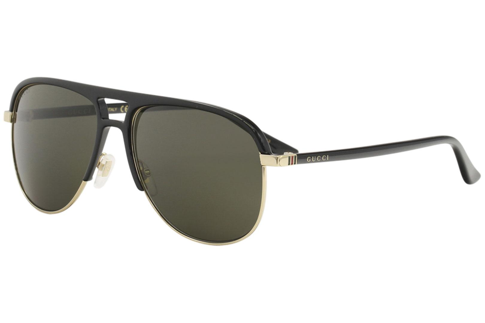 4e3701424b Gucci Women s GG0292S GG 0292 S Fashion Pilot Sunglasses